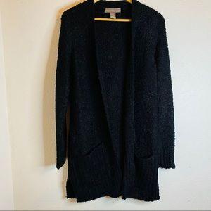 Alexandra + Oak  Long open Knit Cardigan. Size: S